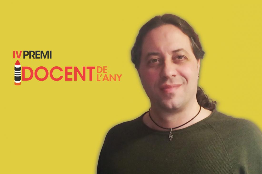 Paco Moreno, guanyador del IV Premi Docent de l'Any