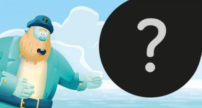 Capità Jobs senyala un signe d'interrogació