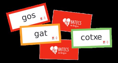 Targetes amb vocabulari (Batecs de llengua)