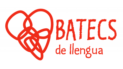 Logo Batecs de llengua (vermell)