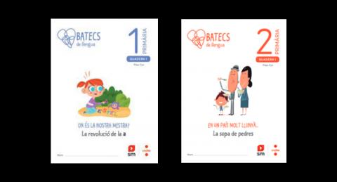 Quaderns de l'alumne de 1r i 2n (Batecs de llengua)