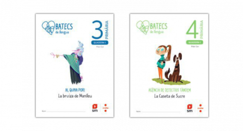 Quaderns de l'alumne de 3r i 4t (Batecs de llengua)