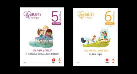 Quaderns de l'alumne de 5è i 6è (Batecs de llengua)