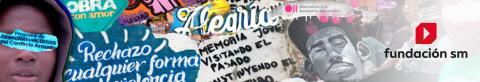 Grafitis amb missatges de pau