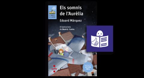 Portada Els somnis de l'Aurèlia amb Garantia Europea