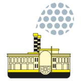 Logo de la col·lecció de literatura infantil El Vaixell de Vapor