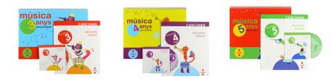 Quaderns de Música d'Educació Infantil