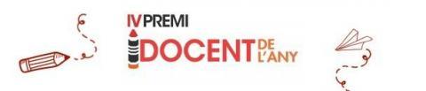 Logo IV Premi Docent de l'Any