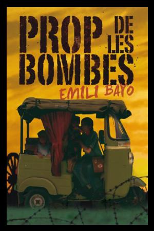 """Coberta del llibre """"Prop de les bombes"""" de l'autor Emili Bayo (Editorial Cruïlla)"""