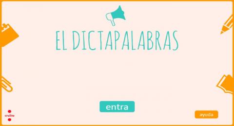 Activitat interactiva: Dictapalabras