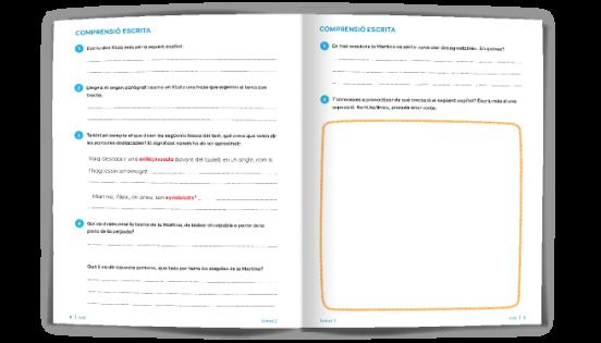 Pàgina exemple de Comprensió lectora - Batecs de llengua