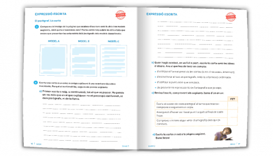 Pàgina exemple d'Expressió escrita - Batecs de llengua